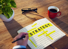 Crossword Puzzle Game Strategy Business Concept Royalty Free Stock Photos