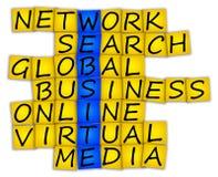 Crossword WEBSITE Stock Photography