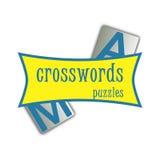 Crosswords app Logo Stock Photos