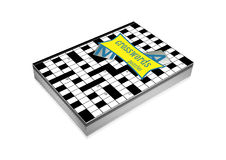 Crosswords book cover Royalty Free Stock Photo