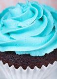 Crosta de gelo azul Fotografia de Stock