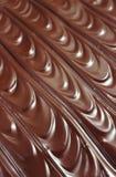Crosta de gelo do chocolate - fundo Fotografia de Stock Royalty Free