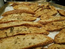 Crosta del pane Fotografia Stock