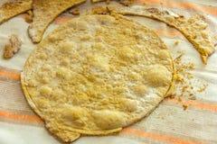 Crosta della confetteria al forno Fotografia Stock