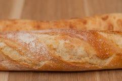 Crosta dorata della pagnotta e della ciabatta francesi Fotografia Stock