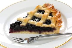crostata自创意大利馅饼 免版税图库摄影