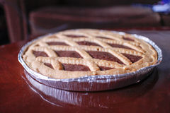 Crostata al cacao Stock Photo