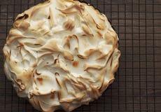 Crostata al limone meringato Immagine Stock