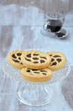 Crostata. Close up. Stock Photo