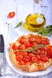 Crostata con i pomodori Immagine Stock