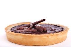 Crostata del cioccolato Fotografie Stock Libere da Diritti