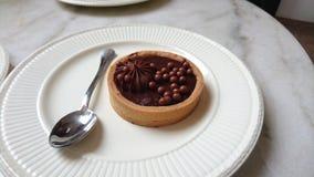 Crostata del cioccolato Immagine Stock Libera da Diritti