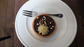 Crostata del cioccolato Immagini Stock Libere da Diritti