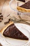 Crostata del cioccolato - dessert fotografie stock libere da diritti