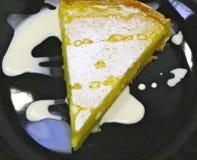 Crostata del limone Fotografie Stock Libere da Diritti