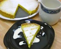 Crostata del limone Fotografia Stock Libera da Diritti