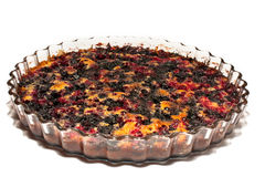 Crostata del mirtillo fotografia stock