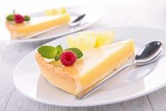 Crostata dell'agrume del limone Fotografie Stock Libere da Diritti