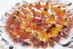Crostata dell'albicocca Fotografia Stock