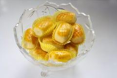 Crostata dell'ananas Fotografia Stock