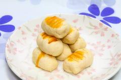 Crostata dell'ananas Immagine Stock