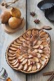 Crostata della pera Immagini Stock