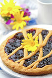 Crostata, italian homemade cake Royalty Free Stock Photography