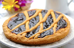 Crostata, italian homemade cake Royalty Free Stock Photo