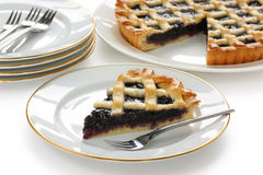 Crostata, italian homemade tart Royalty Free Stock Image
