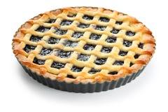 Crostata, tarta hecha en casa italiana Imagen de archivo