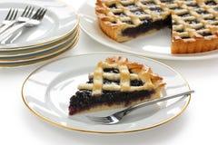 Crostata, tarta hecha en casa italiana Imagen de archivo libre de regalías