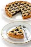 Crostata, tarta hecha en casa italiana Imágenes de archivo libres de regalías