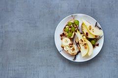 Crostini с плодоовощами Стоковые Фотографии RF