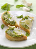 Crostini Stock Photography