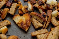 Crostini e cracker Fotografia Stock Libera da Diritti