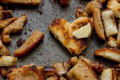 Crostini e cracker Immagine Stock Libera da Diritti