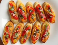 Crostini Stock Image