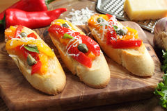 Crostini Royalty Free Stock Photo