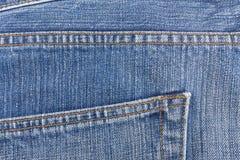 Crotch старого голубого демикотона Стоковое Изображение RF