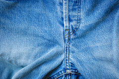 Crotch of trousers jeans Stock Photography