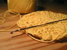 crotchet вязания крючком Стоковая Фотография