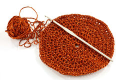 Crotchet and needle Stock Photos