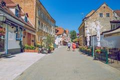 Crotia, ville Zagreb images libres de droits