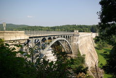 Croton Dam bridge Stock Photography
