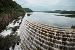 Croton Dam on Hudson, New York USA Royalty Free Stock Photos