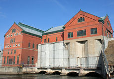 Croton Dam Hydroelectric plant Royalty Free Stock Image