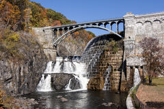 Croton Gorge damn Royalty Free Stock Photography