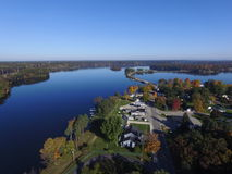 Croton, Michigan Lizenzfreie Stockbilder