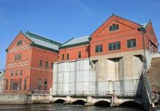 Crotonfördämninghydroelektrisk anläggning Royaltyfri Bild