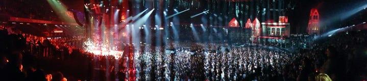 Croud del concierto Fotos de archivo